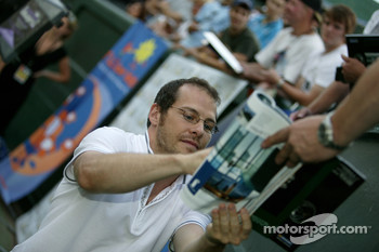 Pitstop tennis Pro-Am charity event: Jacques Villeneuve