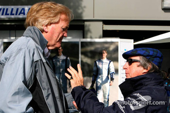 Ron Walker and Sir Jackie Stewart