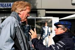 Ron Walker and Sir Jackie Stewart