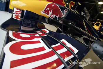 Detail of the Red Bull Racing