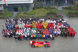 All A1 Teams and Staff pose for an end of season photo