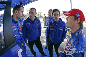 Xavier Pons and Sbastien Loeb