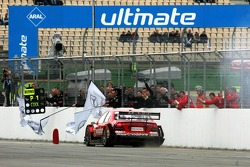 Bernd Schneider wins the race