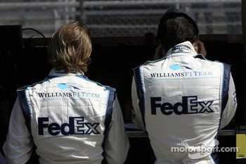 Nico Rosberg and Mark Webber