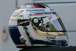The new helmet of Jarno Trulli