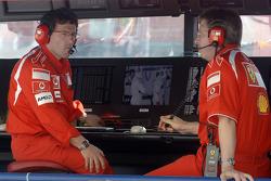 Luca Baldisseri and Ross Brawn