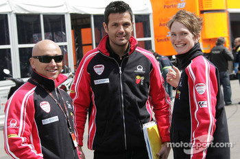 Luis D'Antin, Jacopo Zodo and Phaedra Theffo