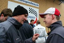 Dr. Wolfgang Ullrich and Mattias Ekström