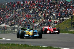 Giancarlo Fisichella and Felipe Massa