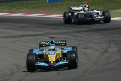 Fernando Alonso and Mark Webber