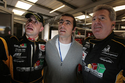 Marino Franchitti, Dario Franchitti and Norbert Walchhofer