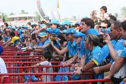 Fans of Fernando Alonso