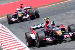 Neel Jani and Scott Speed