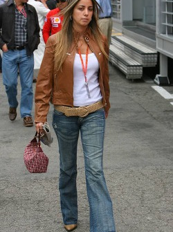 Rafaela Bassi girlfriend of Felipe Massa