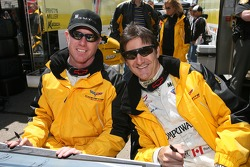 Johnny O'Connell and Ron Fellows