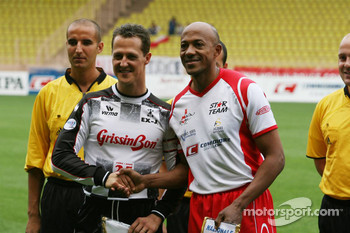 Charity football match: Michael Schumacher