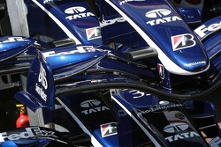 Williams F1 team, front wing detail