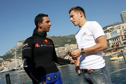 Poseidon Operation: free diver Pierre Frolla and Christian Klien