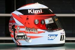 Special Monaco edition helmet for Kimi Raikkonen