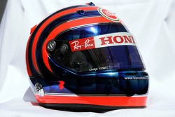 Helmet of Rubens Barrichello