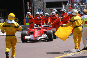 The famous Monaco 2006 incident