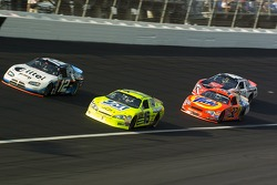 Ryan Newman, Kyle Petty, Paul Menard and Travis Kvapil