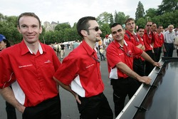 Swiss Spirit team members