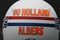 Special Edition helmet of Christijan Albers