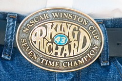 Belt buckle of Richard Petty