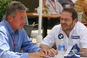 Craig Pollock with Jacques Villeneuve