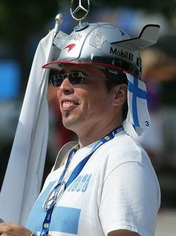 A Kimi Raikkonen fan