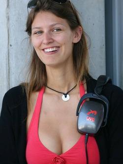 Tiago Monteiro's girlfriend