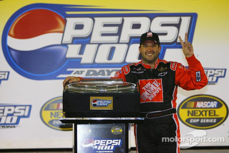 Pepsi 400 in Daytona 2006: Siegerinterview