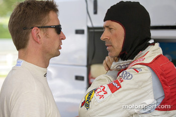 Allan McNish and Rinaldo Capello