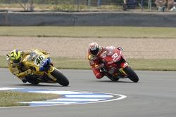 Valentino Rossi and Marco Melandri