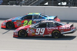 Jeff Gordon and Carl Edwards