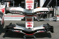 Honda Racing has different front wings available