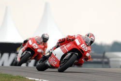 Loris Capirossi and Sete Gibernau