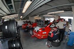 Team PTG BMW garage
