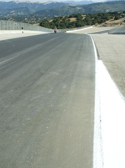 Track walk: The new revised Turn 6 straight
