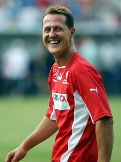 Spiel des Herzens, F1 Superstars plays against the RTL Superstars UNESCO event: Michael Schumacher