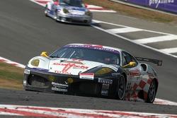 #55 JMB Racing Ferrari 430 GT2 LM: Tim Sugden, Iradj Alexander-David, Jean-Michel Martin, Stéphane Daoudi