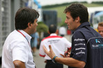 Pasquale Lattuneddu and Mark Webber