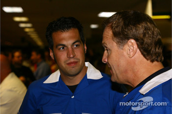Jeff Gordon Foundation bowling tournament: Sam Hornish Jr. and Rusty Wallace
