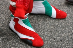 Jarno Trulli racing shoes
