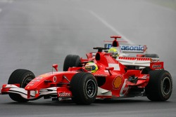 Felipe Massa and Ralf Schumacher