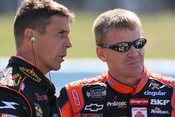 Scott Pruett and Jeff Burton