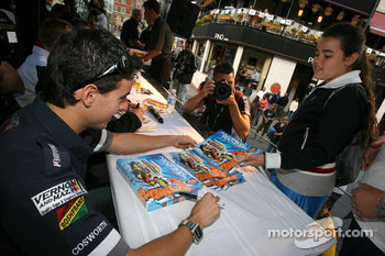 Ford Racing Festival on Crescent street: Andrew Ranger signs autograph sessions