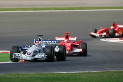 Robert Kubica and Michael Schumacher