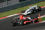 Christijan Albers leads Nick Heidfeld